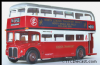 EFE 15619B AEC Routemaster RM - London Transport - Route 718 - 1998 North Weald Rally PRE OWNED